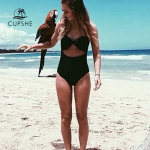 Cupshe Cut To It Shell Swimsuit - Size M